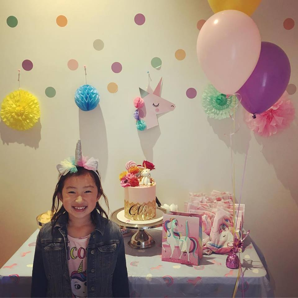 Unicorn Party Kid's Birthday Party Ascot Vale